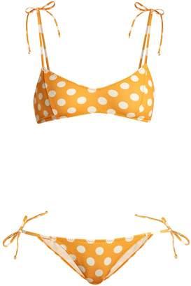 Lisa Marie Fernandez Nicole polka-dot bikini