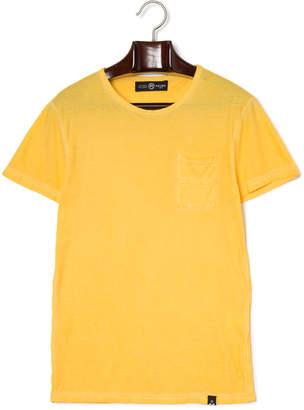 Reign (レイン) - REIGN LARS ワンポケット クルーネック 半袖Tシャツ オレンジ xs