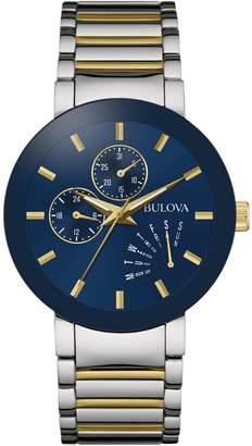 Bulova Multi-Function Classic Collection Silvertone and Goldtone Bracelet Watch