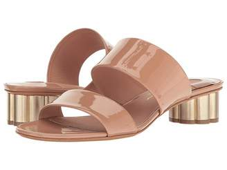 Salvatore Ferragamo Double Band Sandal
