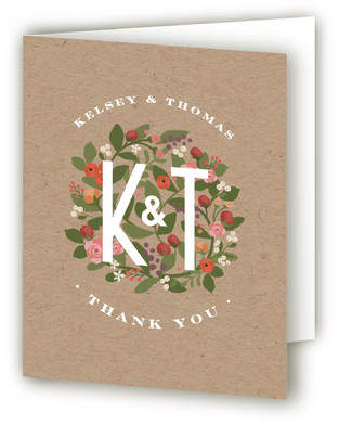 Waverly Florals Thank You Cards