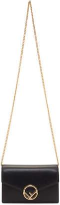 Fendi Black Wallet Chain Bag