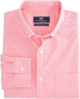 Vineyard Vines Gilliam Back Check Classic Stretch Murray Shirt