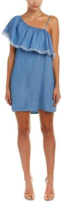 Splendid One-Shoulder Shift Dress