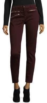 J Brand Zip Stretch Pants