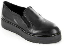 White Mountain Summit By Belton SI0487 Leather Platform Loafers