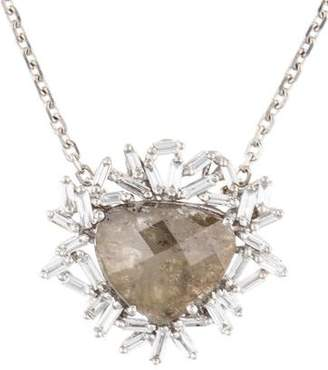 Suzanne Kalan 18K Diamond Slice Fireworks Pendant Necklace