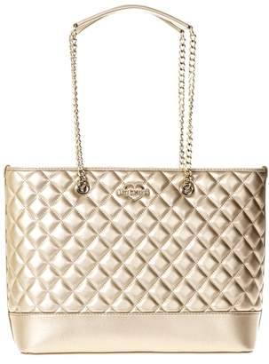 Love Moschino Quilted Leather Shopper