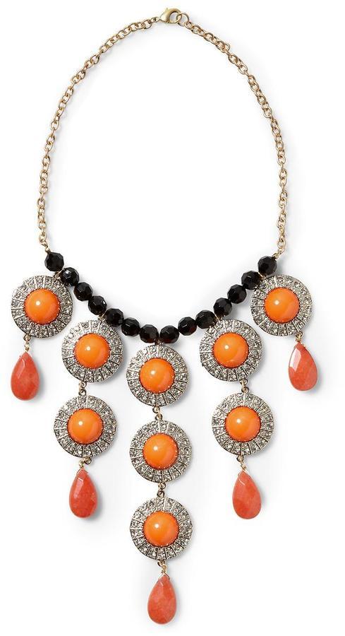 Pim + Larkin Cabochon Bib Necklace 2
