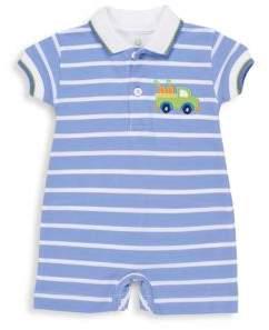 Florence Eiseman Baby's Striped Cotton Shortall