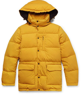 Aspesi Quilted Nylon Hooded Down Jacket