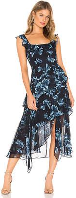 BCBGMAXAZRIA Midi Cocktail Dress