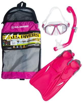 Us Divers US Divers Tropic Junior Snorkel and Fin Set
