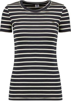 Petit Bateau Striped cotton-jersey T-shirt $49 thestylecure.com