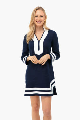 Sail to Sable Navy Long Sleeve Classic Tunic
