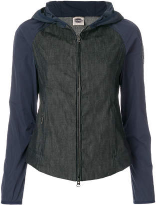 Colmar bicolour hooded jacket