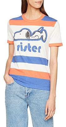 Paul & Joe Sister Women's 7linus T-Shirt,(Manufacturer Size: 2)