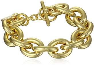 Unoaerre 1AR by 18k -Plated Classic Link Bracelet