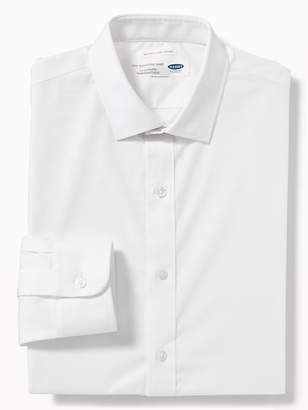 Old Navy Regular-Fit Built-In Flex Signature Non-Iron Shirt For Men