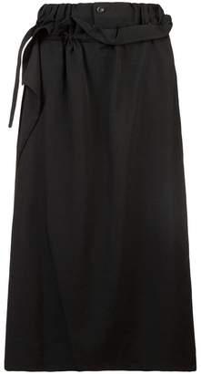 Yohji Yamamoto high-waisted skirt