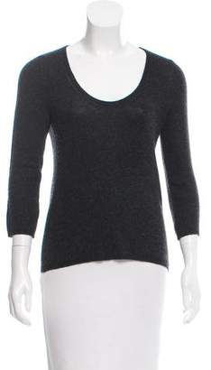 Prada Scoop Neck Cashmere Sweater