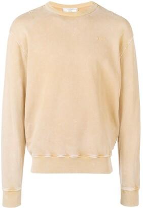 Ami Paris Acid Washed Sweatshirt