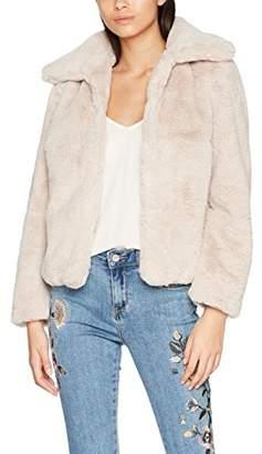 50a58afdf7e46 New Look Women s Short Faux Fur Coat Sleeveless Jacket