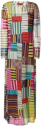 Missoni striped squares maxi dress