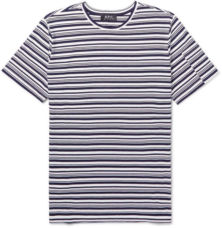 Rody Striped Cotton-Jersey T-Shirt