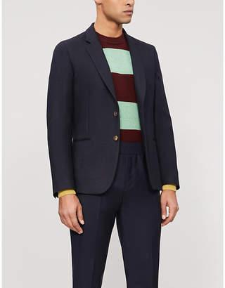 Paul Smith Soho-fit heavy-knit stretch-wool blazer