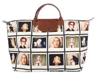Jeremy Scott x Longchamp Le Pliage Polaroid Tote