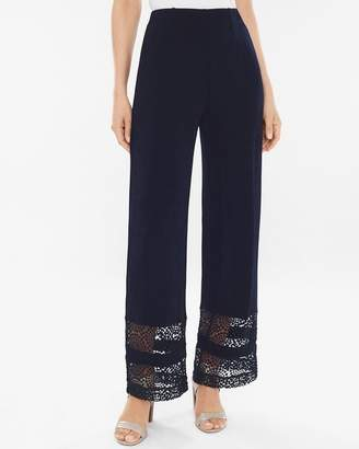 Travelers Classic Lace-Inset No Tummy Pants