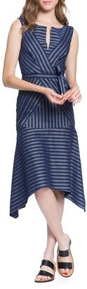 Tracy Reese Women's Directional Stripe A-Line Dress