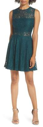 LuLu*s Lace Skater Dress