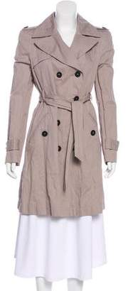 Comptoir des Cotonniers Double-Breasted Trench Coat