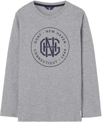 Gant Boys Haven Long Sleeve T-Shirt