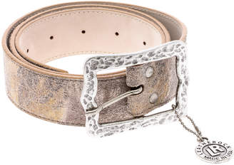 Leather Rock Antiqued Leather Belt