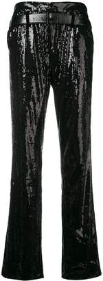 RtA sequinned trousers