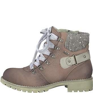 Jana Women's 8-8-26219-21 521 Combat Boots, Pink (Rose
