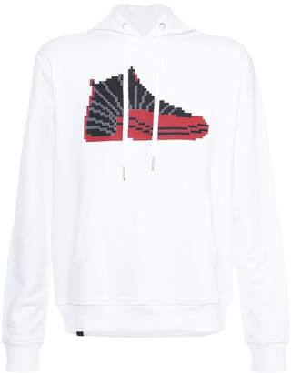 Mostly Heard Rarely Seen 8-Bit hi-top sneaker hoodie