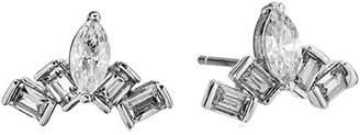 Nicole Miller Nmny Mini Cosmic Stud Earrings