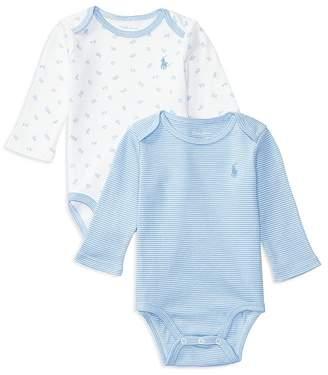 Ralph Lauren Boys' Bodysuit, Set of 2 - Baby