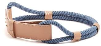 Roksanda Leather And Rope Waist Belt - Womens - Beige