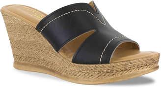 Easy Street Shoes Tuscany Marsala Wedge Sandal - Women's