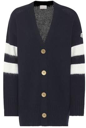 Moncler Wool and cashmere cardigan