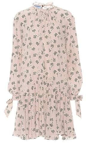 Prada Silk crêpe-de-chine dress