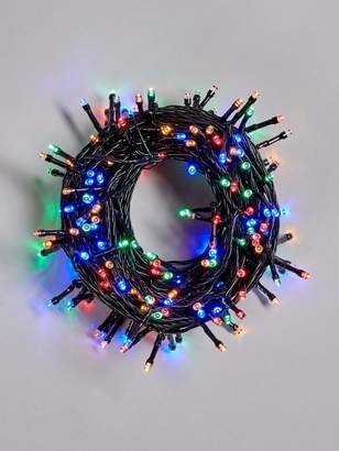 Very 200 Battery Operated Multicolour Indoor/Outdoor Christmas Lights