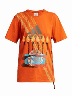 Couture Noki - Customised Street T Shirt - Womens - Orange