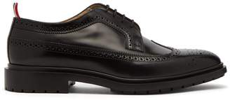 Thom Browne Longwing patent-leather brogues