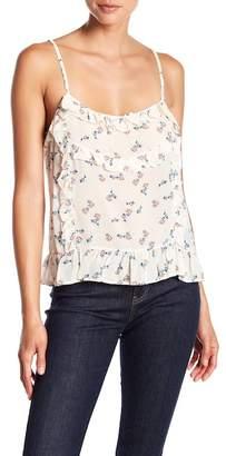 YMI Jeanswear Outerwear Estelle Floral Print Tank Top